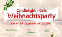 Di, 25.12. Weihnachts-Candlelight-Gala-Party