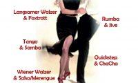 ausgesuchte Tänze lernen – Neues Konzept