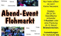 Abend-Event-Flohmarkt am Samstag, 7. September ab 15 Uhr