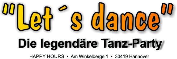 "Fr. 22. November ""let´s dance"" mit WestCoastSwing"